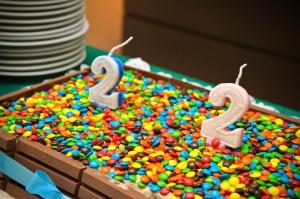 Aniversário de dois aninhos da Ruth e do Isaac. Dia 14.04.2013
